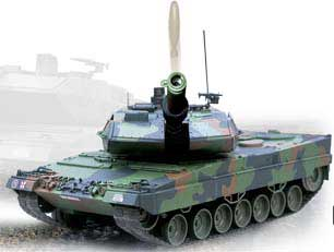 R/C Leopard 2A5 (1:16 Scale) 26.995 MHz - Bullet Shooting