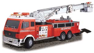 Radio Control Fire Engine (1:18 Scale) 26.095mhz