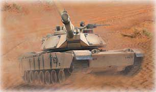 R/C M1a2 Abrams (1:16 Scale) 26.995 MHz - Bullet Shooting