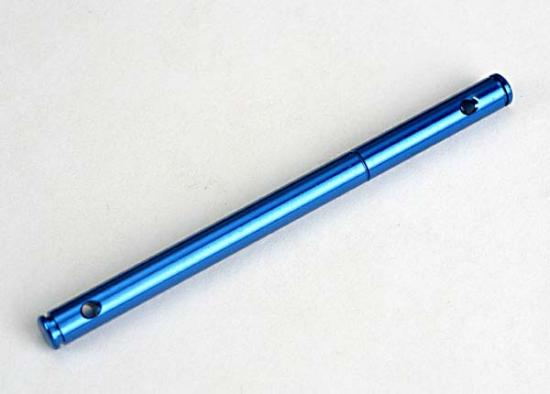 Pulley Shaft - Front (Blue-Anodized - Light-Weight Aluminum)