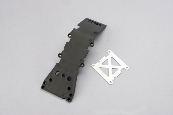 Skid Plate Front Plastic Gray T-Maxx