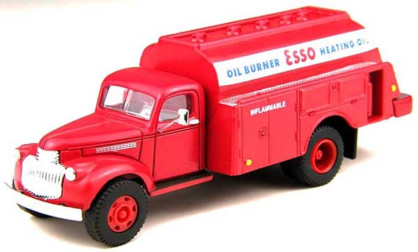 41 Chevy Tank Truck Esso (HO / 1:87)