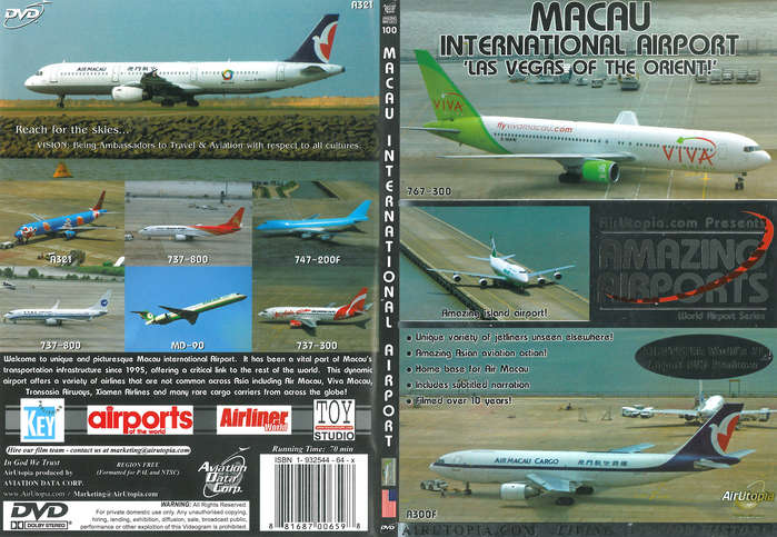 Amazing Airports Dvd Macau Airport