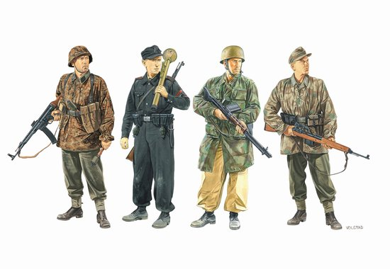 """Defense of the Reich"" w/Gen 2 Gear (4 Figures Set) (1:35)"