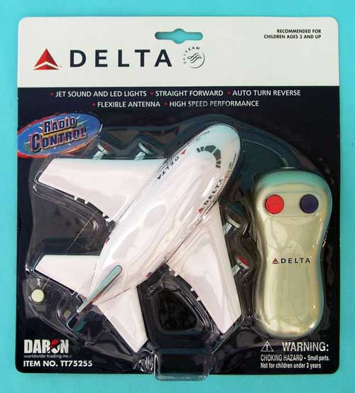 Delta Airlines Radio Control Airplane