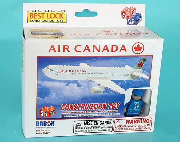 Air Canada 55 Piece Construction Toy