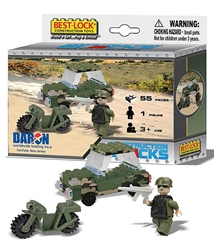 Military 55 Piece Construction Set