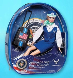 Air Force One Flight Attendant Doll