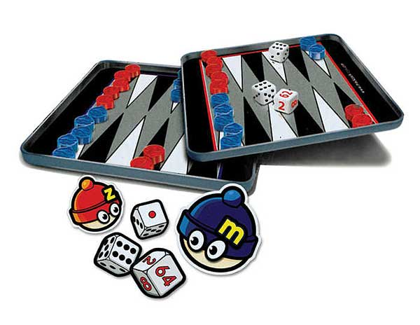 Backgammon Magnetic Travel Game