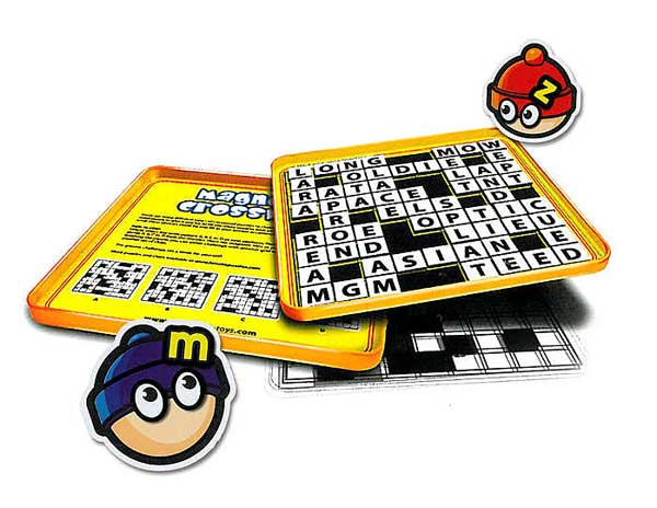 Crossword Magnetic Travel Game
