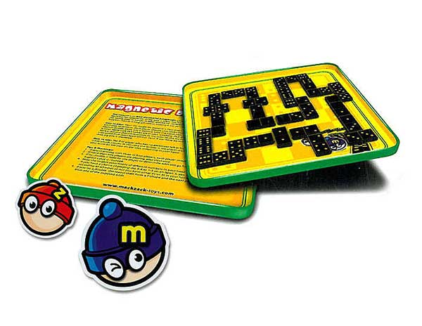 Dominoes Magnetic Travel Game