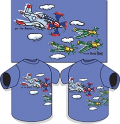 P-51 On The Prowl Kids T-shirt