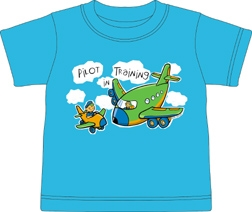 Pilot in Training Toddler shirt