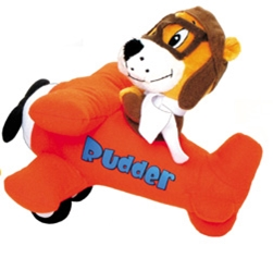Rudder and Waco Plush airplane