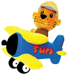 Stick and Stearman plush airplane