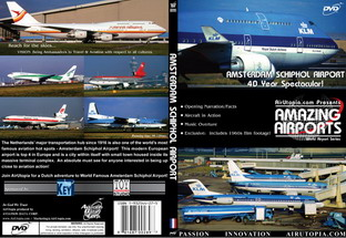 Amsterdam Schiphol Airport 40 year Spectacular! (DVD)