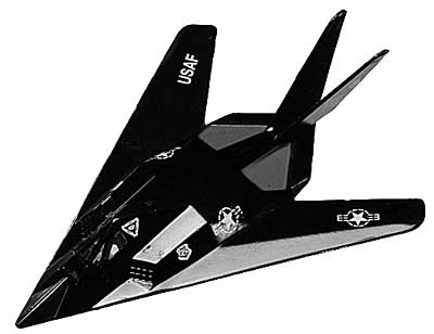 F-117A Stealth Fighter (4.5 inch)