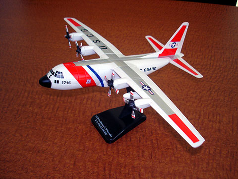 US Coast Guard C-130 (1:110)
