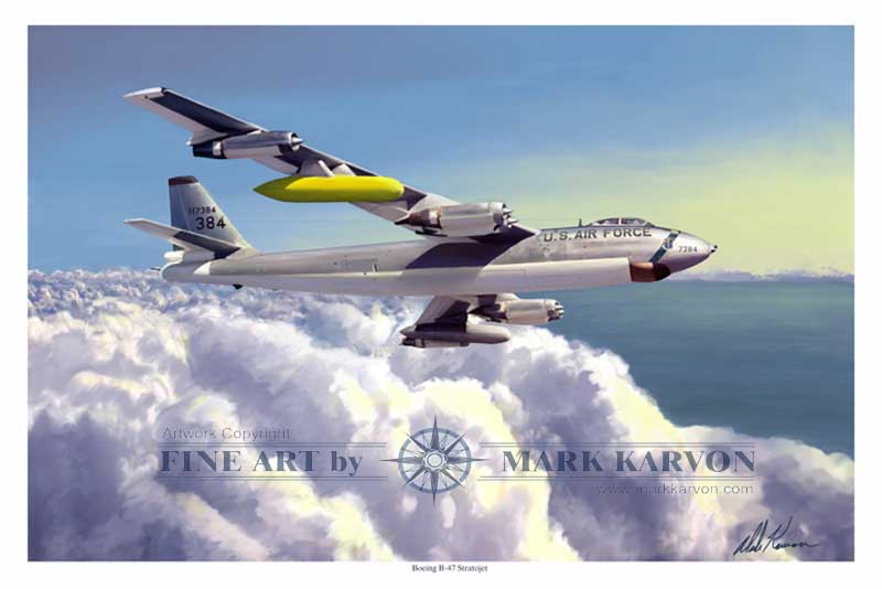 B-47E Stratojet of the 306th BW (Fine Art Print)
