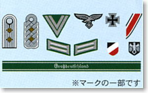 German Insignia Decals 1:16:35