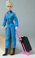 Astronaut Doll In Blue Suit