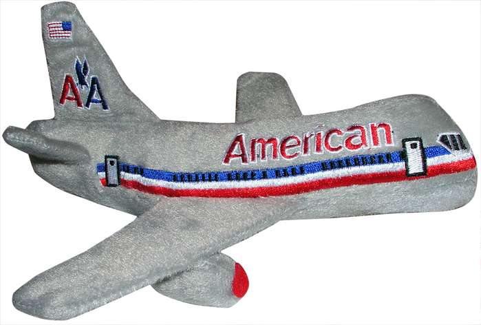 American Airlines Plush Toy