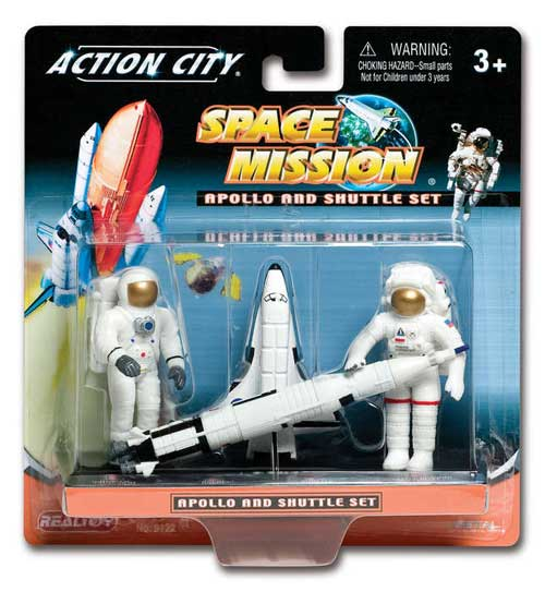 Space Shuttle And Astronaut Gift Pack