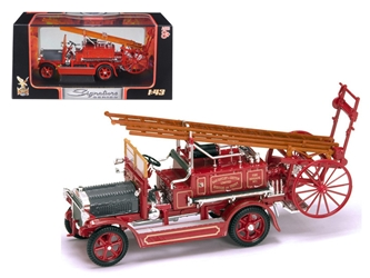 1921 Dennis N Type Fire Engine Red (1:43)