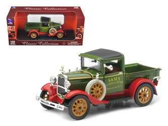 1931 Ford Model A Pick Up Truck Green 1/32 Diecast Model by New Ray