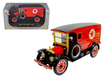 1920 White Delivery Van Texaco Red (1:32)