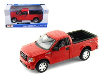 2010 Ford F-150 STX Pickup Truck Red 1:27