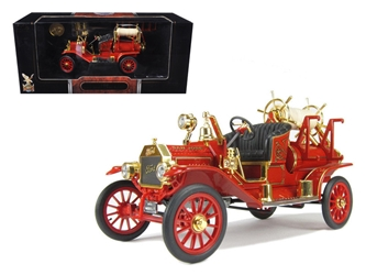 1914 Ford Model T Fire Engine Red (1:18)