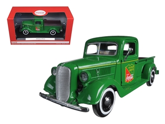 1937 Ford Pickup Truck Green Coca Cola (1:24)