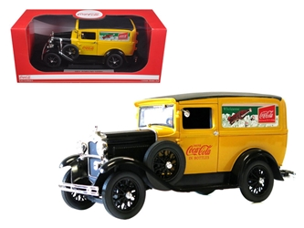 1931 Ford Model A Coca Cola Delivery Van 1/18 Diecast Model by Motorcity Classics