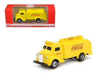 1947 Coca Cola Delivery Bottle Truck Yellow (1:87) HO Scale
