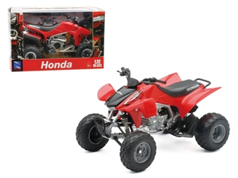 2009 Honda TRX 450R Red ATV Motorcycle (1:12)
