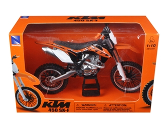 KTM 450 SX-F Diecast Motorcycle Model 1:10
