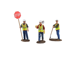 Diecast Metal Construction Figures 3pc Set #1 (1:150) by First Gear