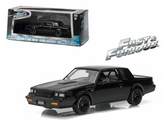 "Doms 1987 Buick Grand National GNX ""The Fast and the Furious"" Movie (2009) (1:43)"