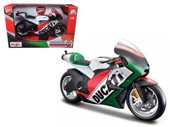 Ducati Italy Motor World Cycle Series Motorcycle Model 1:6