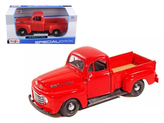 1948 Ford F-1 Pickup Red (1:25)