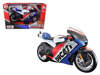 Ducati France Motor World Cycle Series 1:6 Motorcycle Model