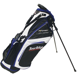 Tour Edge Hot Launch 2 Stand Bag Black/White/Royal