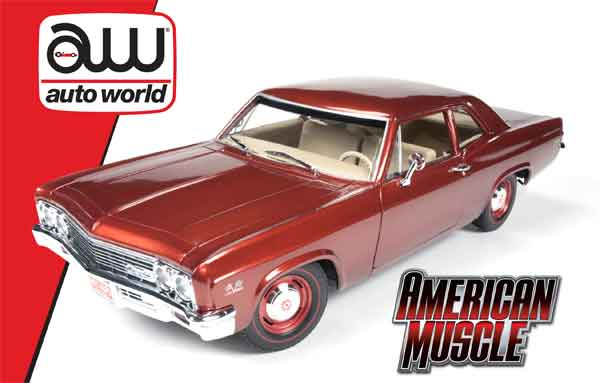 1966 Chevrolet Biscayne Coupe 1:18
