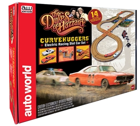 Dukes of Hazzard - Curvehuggers Slot Car Race (1:64)