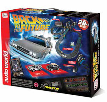 Back To The Future Slot Car Race Set (1:64)