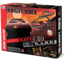 Knight Rider - K.I.T.T. VS. K.A.R.R. Slot Car (1:64)