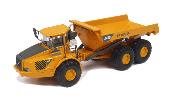 Volvo A40D Articulated Hauler Made of diecast metal (1:87)