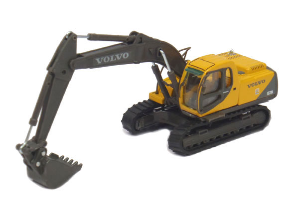Volvo EC210 Track Excavator Made of diecast metal (1:87)