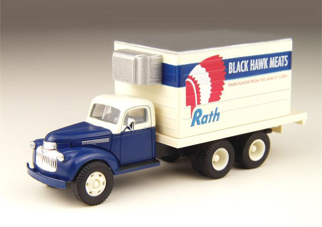 Black Hawk Meats - 1941-1946 Chevy Delivery Truck  (1:87)